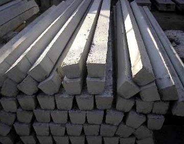 монолитные бетонные столбы