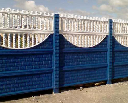 наборной забор