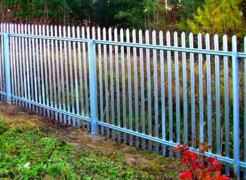 модульный цинковый забор