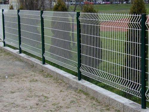 забор декоративная сварная сетка