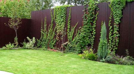 ландшафтный дизайн забор