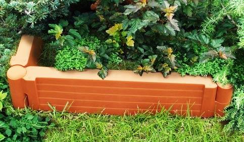 бордюр садовая доска