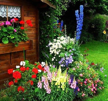 цветник крестьянский дворик