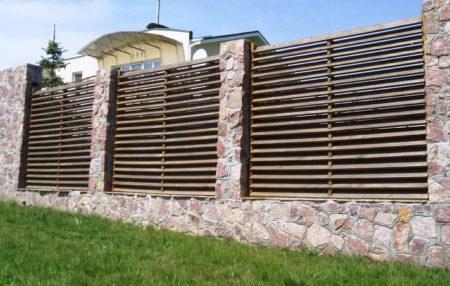 забор елочка