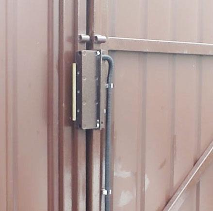 ворота электромагнитный замок
