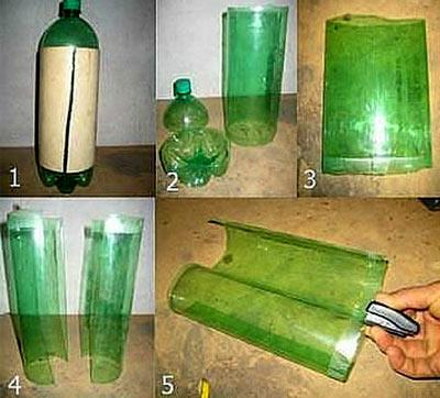 соединение бутылок