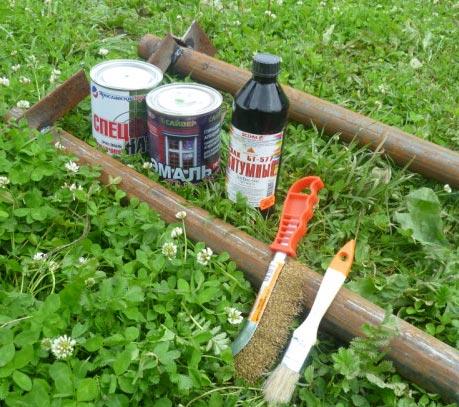 инструменты для очистки забора