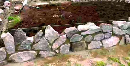 кладка камня