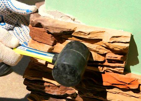 декорирование искусственным камнем