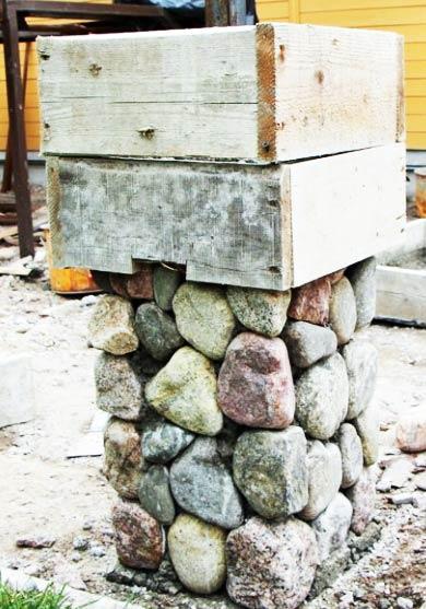 опалубка столба