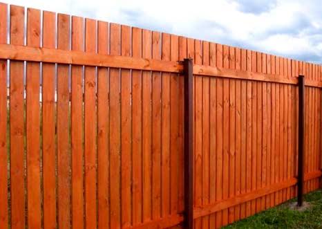 лаги на заборе