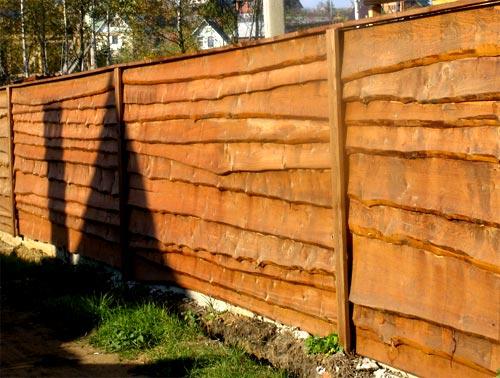 ограда лесенка