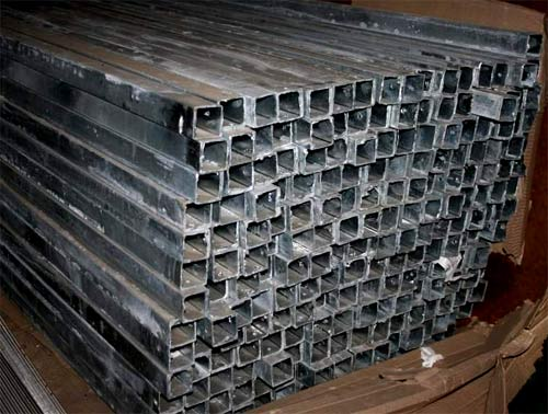оцинкованные металлические столбы