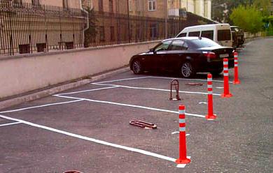 столбики для парковки