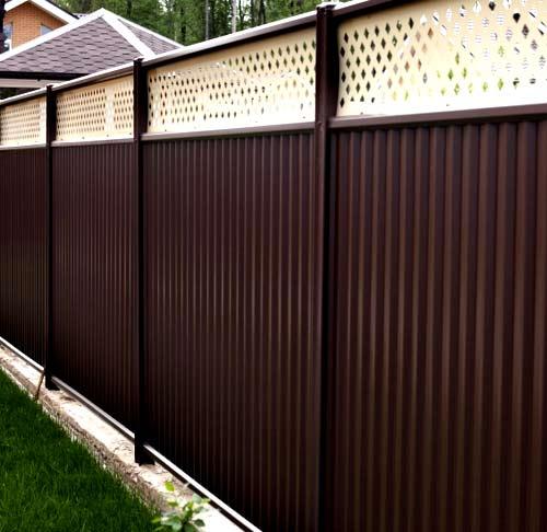 модульный забор