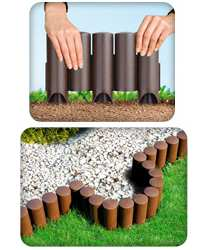 Делаем декоративные заборы для клумб своими руками - фотогалерея и инструкция