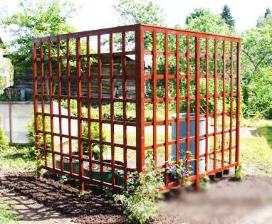 ограда огорода