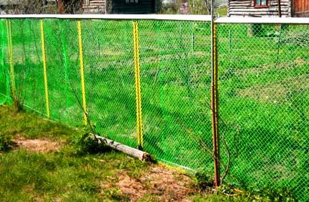 забор пластиковая сетка