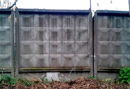 ограда из панелей ПО-3