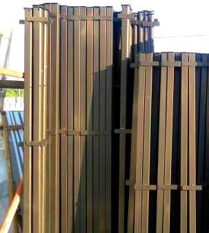 продажа металлических столбов