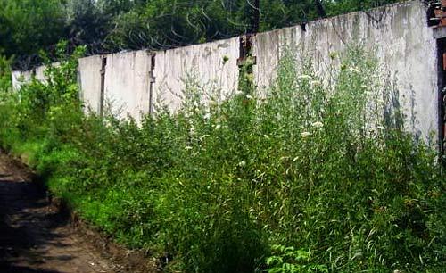 промышленный забор