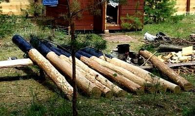 пропитка деревянных столбов