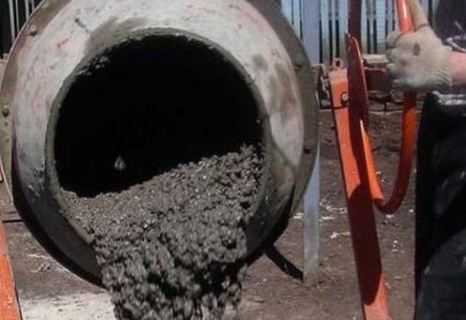 пропорции бетона в бетономешалке