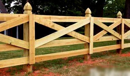 забор ранчо