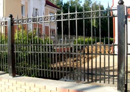 решетчатый забор
