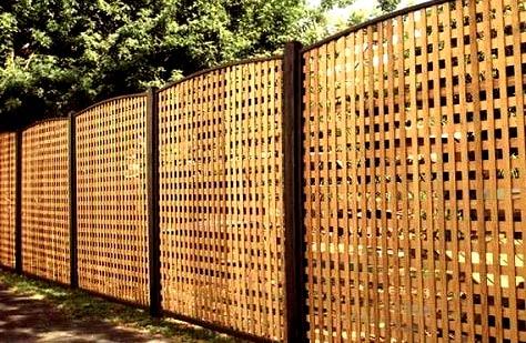 ограда без фундамента