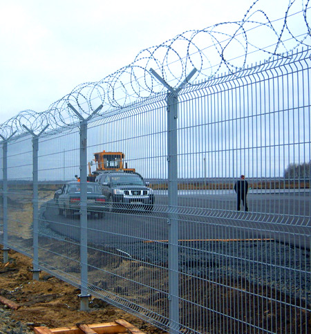 забор охрана периметра