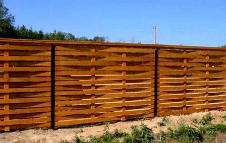 забор плетенка
