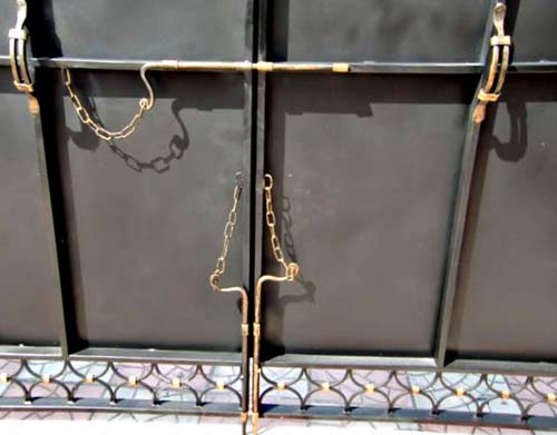 вертикальные засовы для ворот