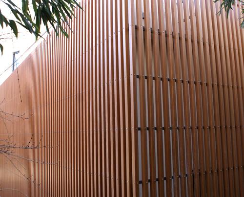 ограда из декинга