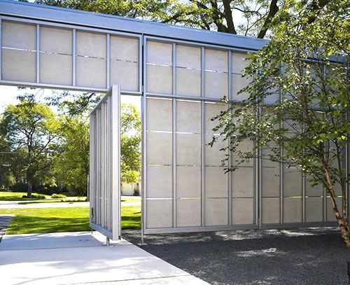 конструкция высокий забор