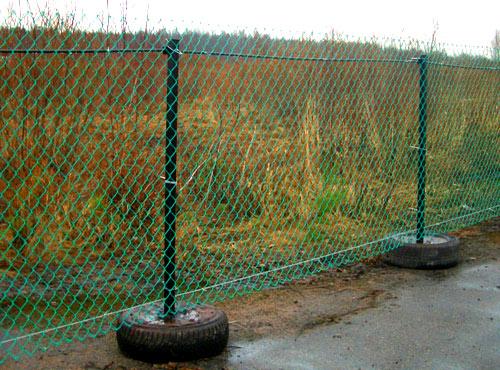 временный забор