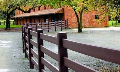 декоративный забор ранчо