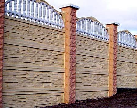 забор из панелей