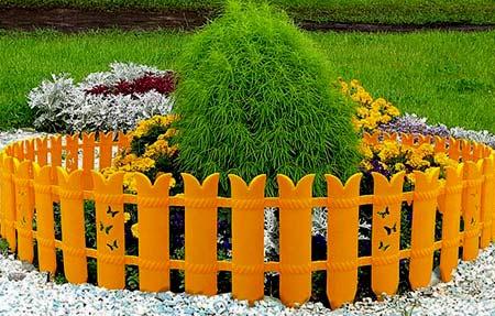 заборчик для цветника