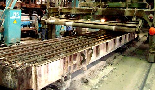 изготовление столбов